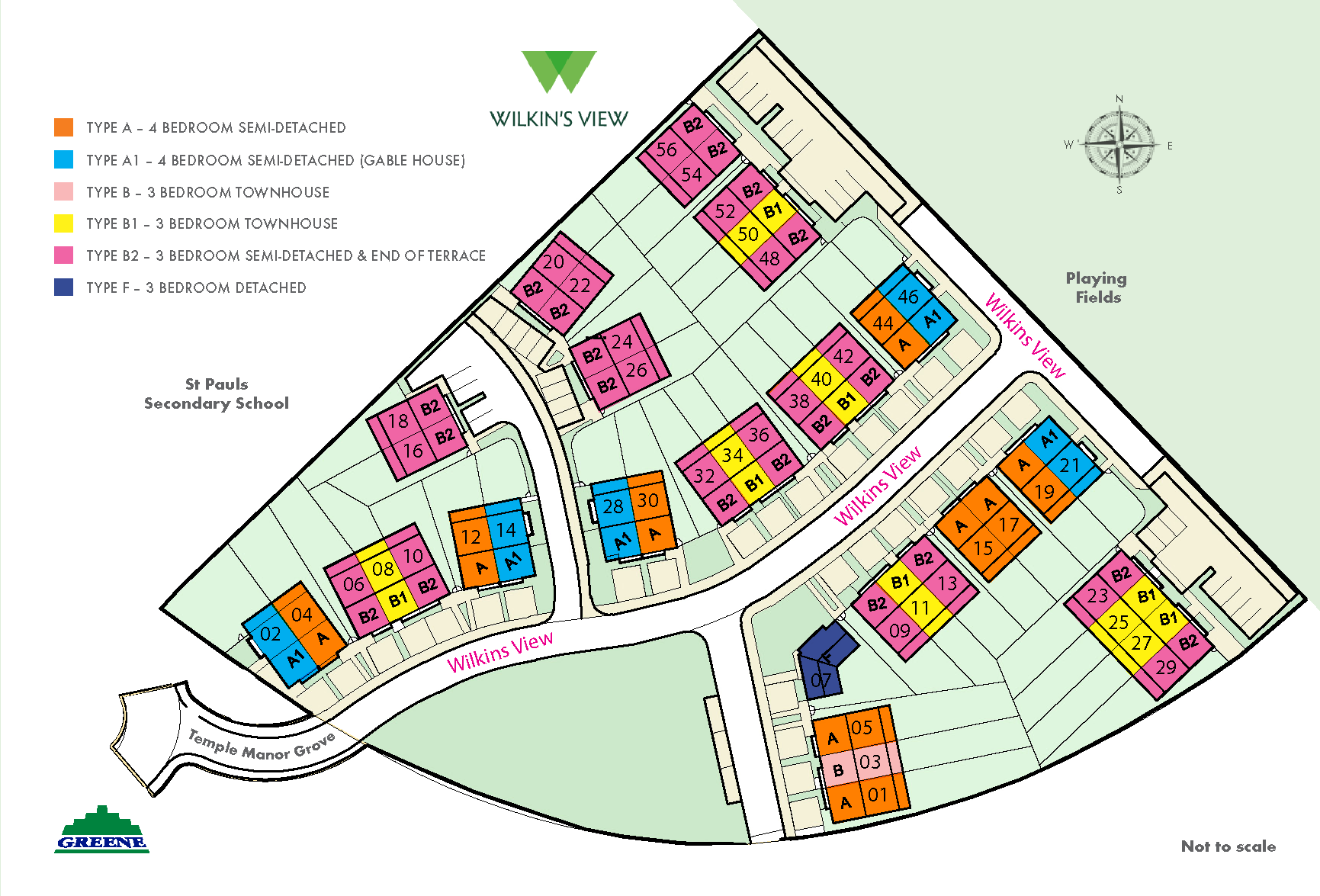 Wilkins View Site Plan
