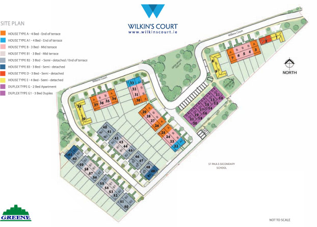 Wilkins Court Site Plan