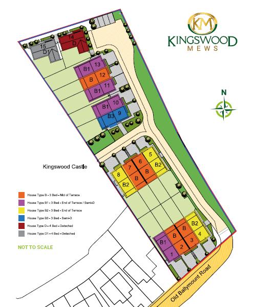 Kingswood Mews Site Plan